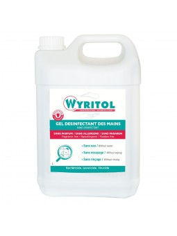 Wyritol gel désinfectant...