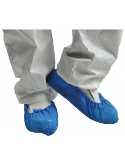 Surchaussures en CPE Bleues...